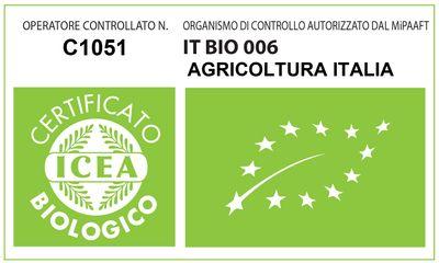 Certificato BIO Malbosca